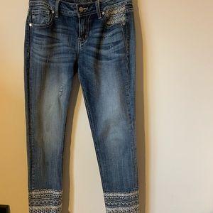 Miss Me Embellished Jeans Size 28